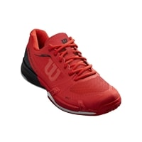 "Rush Pro 2.5 Pickleball Shoe for Women - ""The Pickler"" by Wilson in Red/Black, sizes 8.5-15.5"