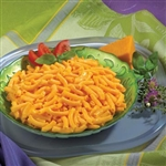 cheesy mac high protein entree from balanced protein diet