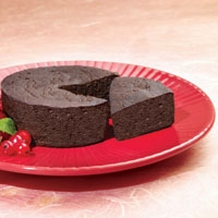 double chocolate cake from balanced protein diet