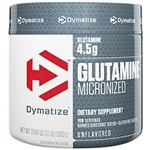 micronized glutamine from dymatize