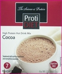 hot drink mix, hot chocolate from protidiet