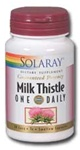 milk thistle one daily from solaray