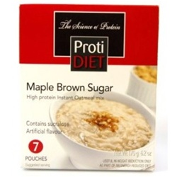 instant oatmeal mix from protidiet