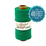 Global Hemp Green 20# Test Waxed Hemp Twine