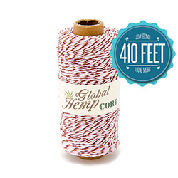 Global Hemp Neapolitan 20# Test Waxed Hemp Twine