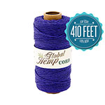 Global Hemp Purple 20# Test Waxed Hemp Twine