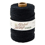 Global Hemp Black 48# Test Waxed Hemp Twine