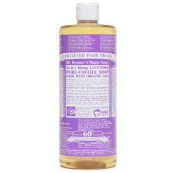 Dr. Bronner's Lavender Liquid Hemp Soap