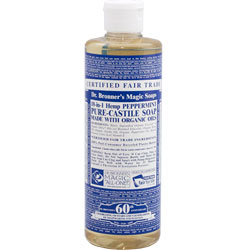 Dr. Bronner's Peppermint Liquid Hemp Soap
