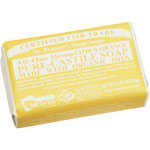 Dr. Bronner's Citrus Orange Hemp Bar Soap