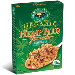 Nature's Path Hemp Plus Organic Granola Cereal