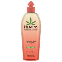 Hempz Hydrating Bath and Body Oil - 6.76 fl oz