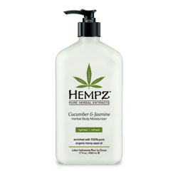 Hempz Cucumber and Jasmine Herbal Moisturizer - 17 oz