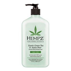 Hempz Exotic Green Tea & Asian Pear Herbal Moisturizer - 17 oz