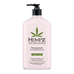 Hempz Pomegranate Herbal Moisturizer - 17 oz