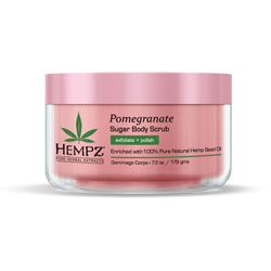 Hempz Pomegranate Sugar Body Scrub - 7.3 fl oz