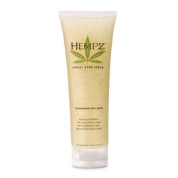 Hempz Body Scrub Sandalwood and Apple