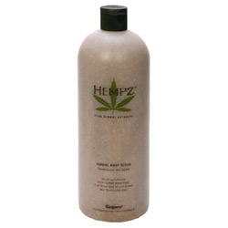 Hempz Body Scrub Sandalwood and Apple - Liter