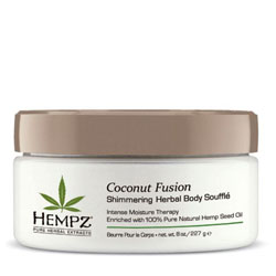 Hempz Shimmering Herbal Body Soufflé - 8 oz