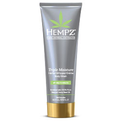 Hempz Triple Moisture Herbal Whipped Creme Body Wash - 8.5 fl oz