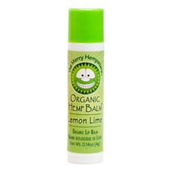 The Merry Hempsters Lemon Lime Hemp Lip Balm