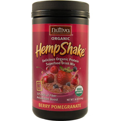 Nutiva Organic Berry Pomegranate Hemp Shake - 16 oz