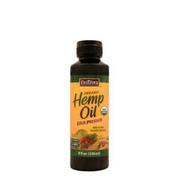 Nutiva Organic Hemp Seed Oil 8 Fl Oz