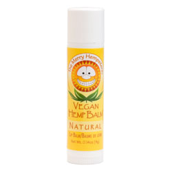 The Merry Hempsters Natural Vegan Hemp Lip Balm