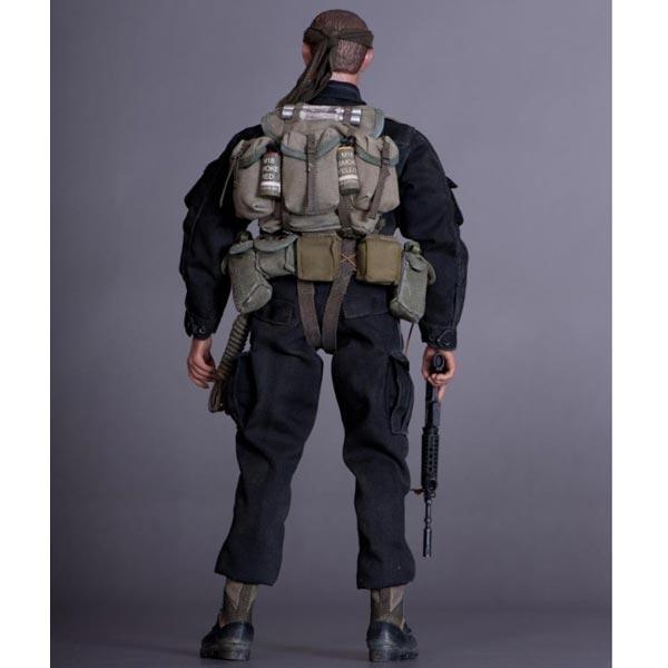 Boxed Figure: ACE US Vietnam ERA MAC V SOG BlackJack (13005)