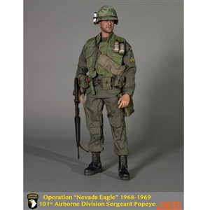 "Boxed Figure: ACE Operation ""Nevada Eagle"" 1968-1969 101st Airborne Division Sergeant (13035)"