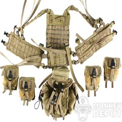 Vest ACE Eagle MLCS H-Harness M60 Pouches, LRRP pack