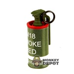 Grenade: ACE Smoke Canister Red