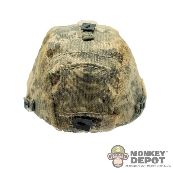 Helmet ACE US MICH 2000 Helmet w/ ACU Cover Weathered