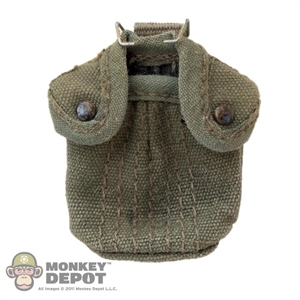 Pouch: Ace M1956 1 Qt Canteen Pouch w/M1910 Wire Hook (Aged)