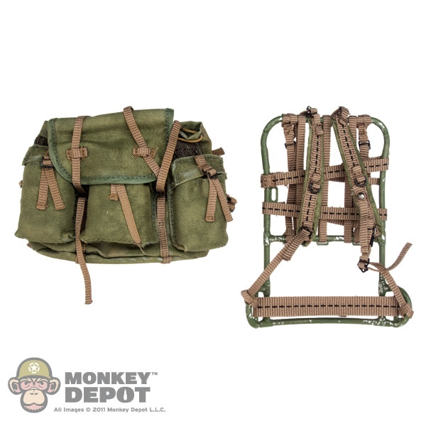 Monkey Depot - Pack: ACE P68 Lightweight Rucksack w/Frame