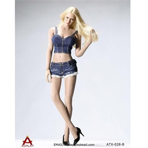 Outfit: ACPlay Hot Sun-Top & Denim Shorts Set (AP-ATX028)