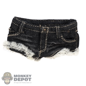 Shorts: ACPlay Female Black Jean Shorts