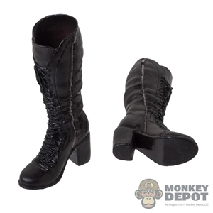 Boots: ACPlay Black Widow Brown Molded Boots