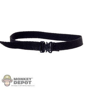 Belt: Art Figures Black Belt w/Cobra Buckle
