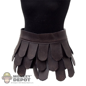 Monkey Depot - Skirt: ACI Roman Gladiator Leather War Skirt