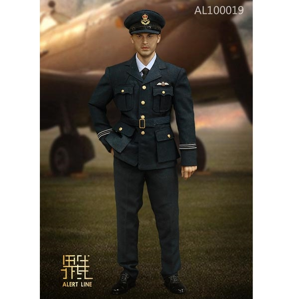 6c5427562a7 Monkey Depot - Boxed Figure  Alert Line WWII Royal Air Force ...