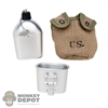 Canteen: Alert Line WWII US M1941 Canteen w/Pouch
