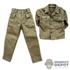 Uniform: Alert Line WWII US Army HBT