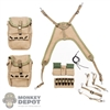 Bags: Alert Line Medic Canvas w/Medical Kit Component Suspenders
