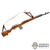 Rifle: Alert Line WWII Russian SVT 40 Semi Automatic Rifle