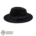 Hat: Alert Line Mens Black Felt Hat