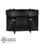 Bag: Alert Line Black Leather-Like Briefcase