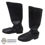 Boots: Alert Line Russian Leather-Like Officer Boots