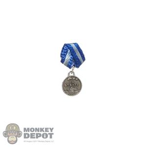 Medal: Alert Line WWII Russian Medal For Courage