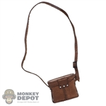 Case: Alert Line Leather-Like Red Army Binoculars Case w/Strap
